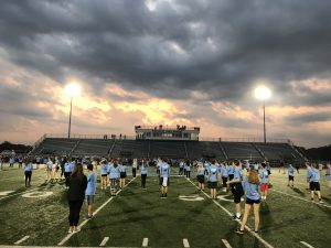5 a.m. Flyover Energizes Student Body