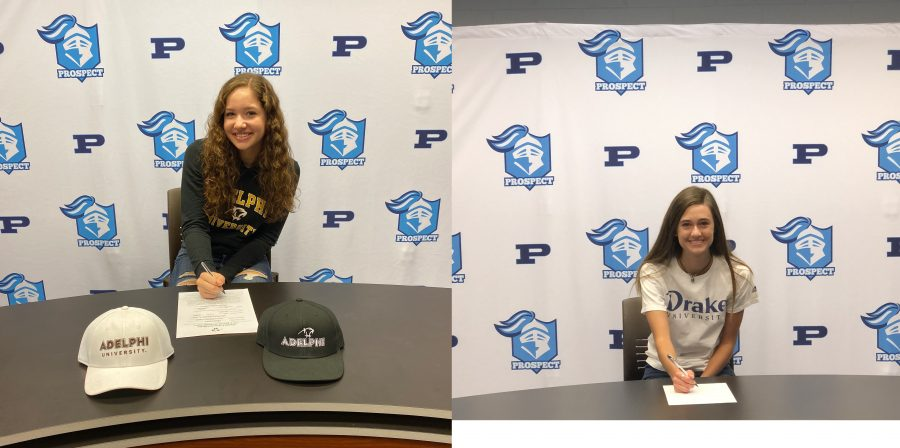 Two Seniors Sign National Letter of Intent
