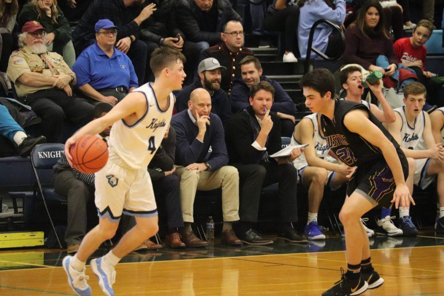 Boys Basketball comeback falls just short against Mustangs