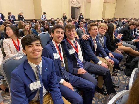 Prospect DECA students qualify for State