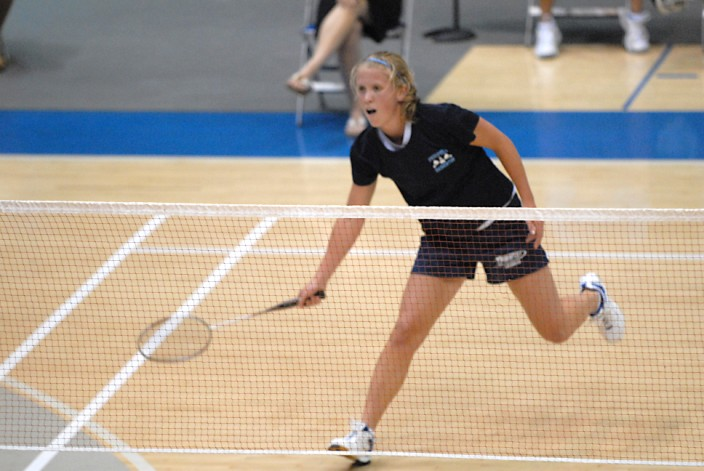 GIRLS' BADMINTON FOLLOWS LEADERSHIP OF STATE-WINNING COACH