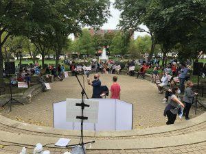 PHOTO ALBUM: REOPEN D214 PROTEST AT NORTH SCHOOL PARK