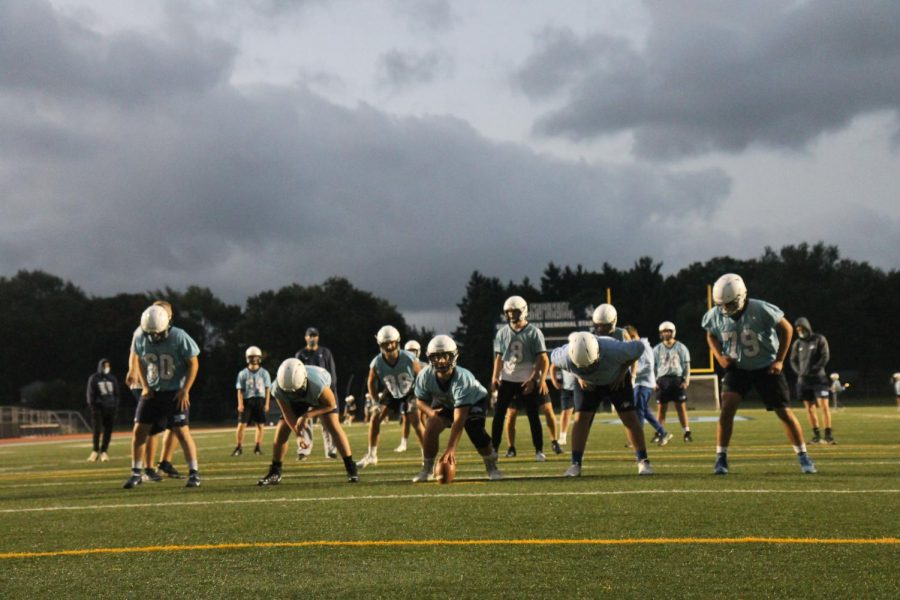 PHOTO ALBUM: FOOTBALL FALL CONTACT DAYS