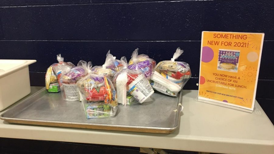 GRAB AND GO MEAL BAGS OFFERED DISTRICTWIDE