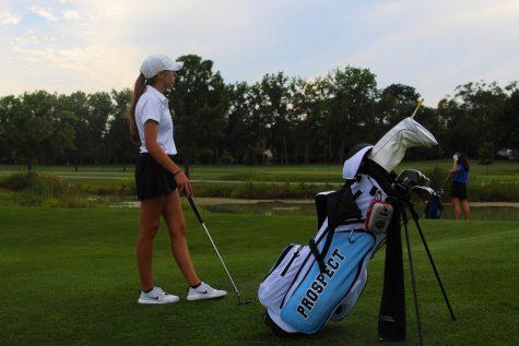 Senior Abby Diblik has a productive start to her season, shooting 50 for nine holes.