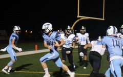 Navigation to Story: Knights Rebound in Blowout Homecoming Victory