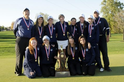 Girls Golf Celebrates 10th Anniversary of State Championship